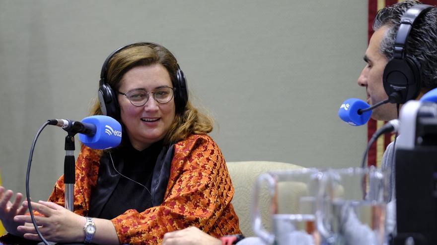 La diputada palmera Guadalupe González Taño.