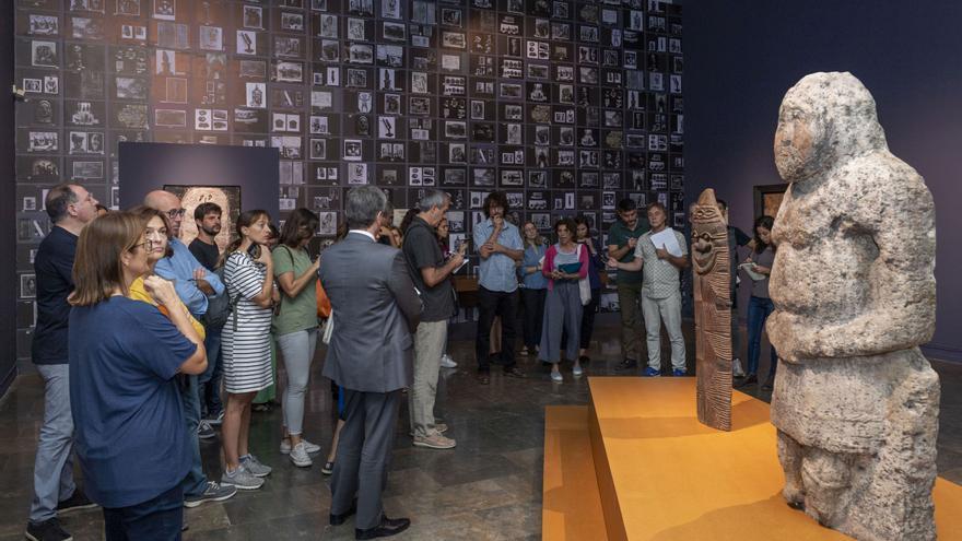 La exposición 'Jean Dubuffet. Un bárbaro en Europa' del IVAM,  organizada con el MUCEM de Marsella.