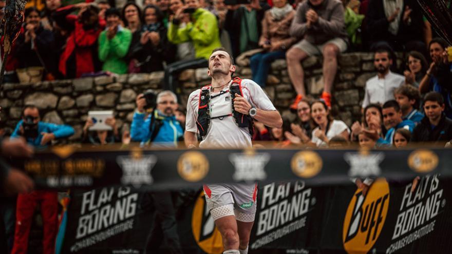 Iker Karrera ganador de la Buff Epic Trail