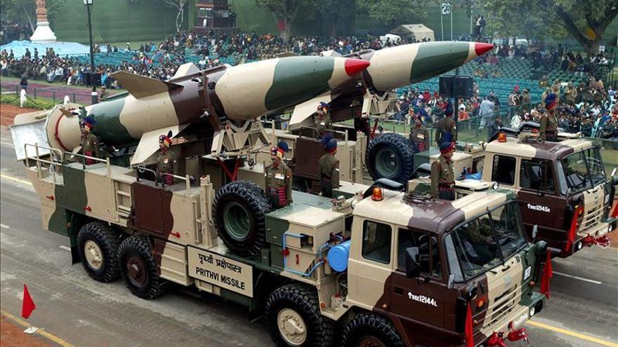 La India prueba de nuevo con éxito su misil nuclear Prithvi II