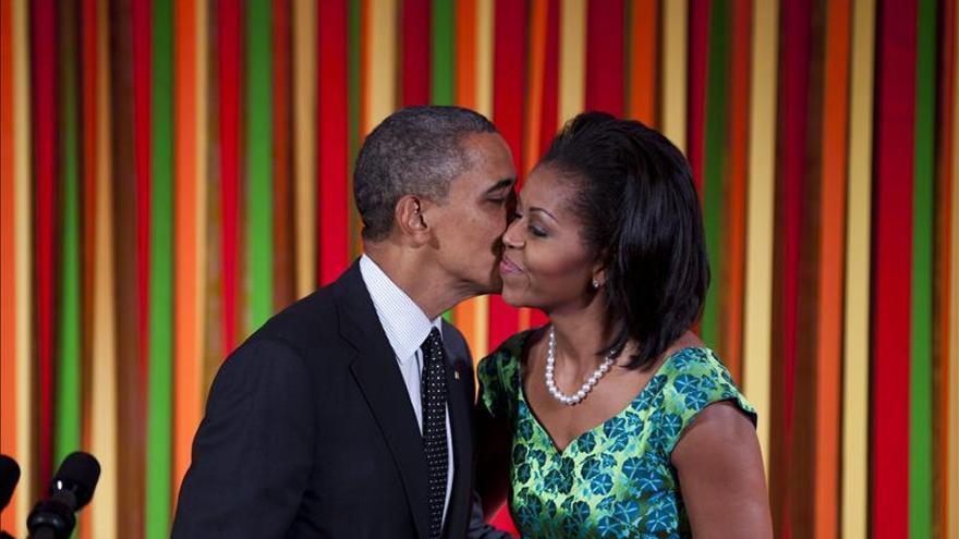 """Los Obama planean un San Valentín """"sencillo"""""""
