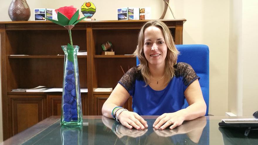 Susana Machín es consejera de Educación, Sanidad y Artesanía. Foto: LUZ RODRÍGUEZ.
