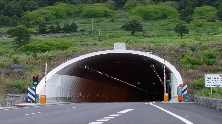 En la imagen, Túnel Nuevo de La Cumbre.