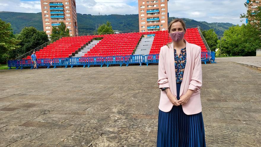 La concejal del Ayuntamiento de Barakaldo Nerea Cantero