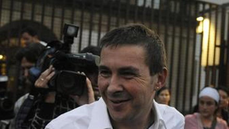 Arnaldo Otegi. (EUROPA PRESS)