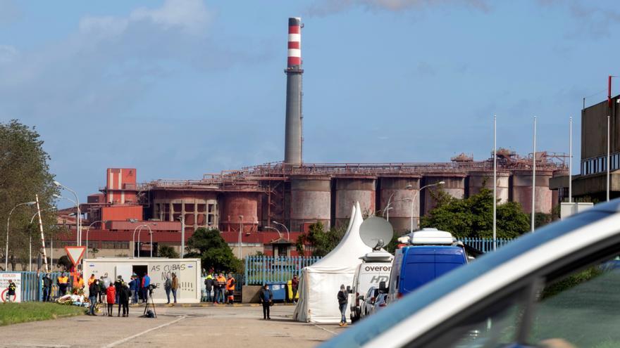 Alcoa plantea un ERE para 524 empleados y parada de las instalaciones en Lugo