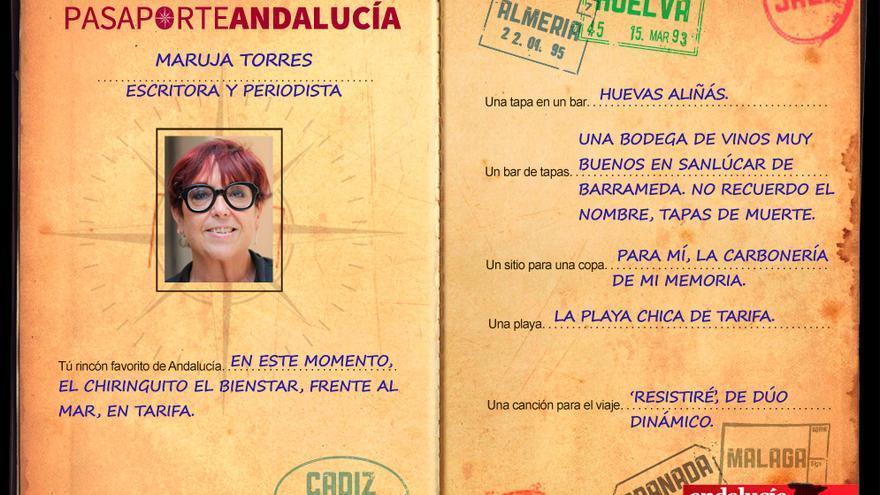 PASAPORTEST. Con Maruja Torres