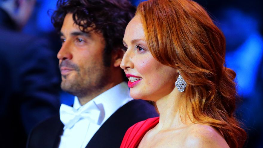 Cristina Castaño en la ceremonia de los Goya 2017