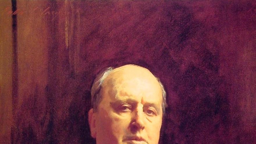 Retrato de Henry James por John Singer Sargent