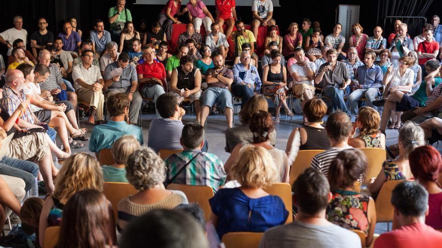 Asamblea de Ahora Aragón en Común.