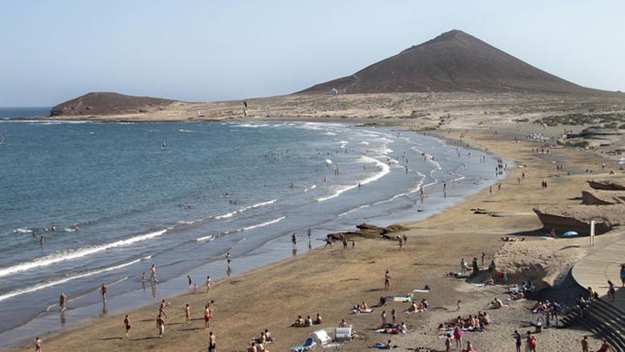 Bahía y playa de El Médano, en Granadilla