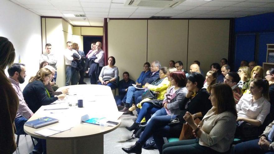 Reunión del Consejo Político Insular de Coalición Canaria (CC) de La Palma celebrado el pasado lunes.