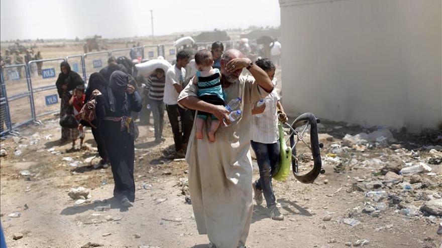 La guerra siria deja la cifra récord de cuatro millones de refugiados