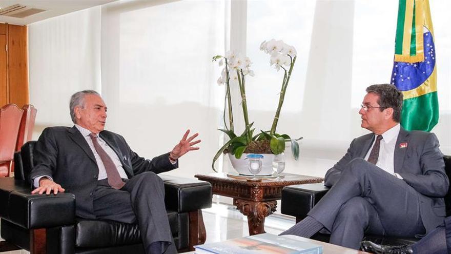Director de la OMC dice que comercio exterior gana relevancia con Gobierno Temer