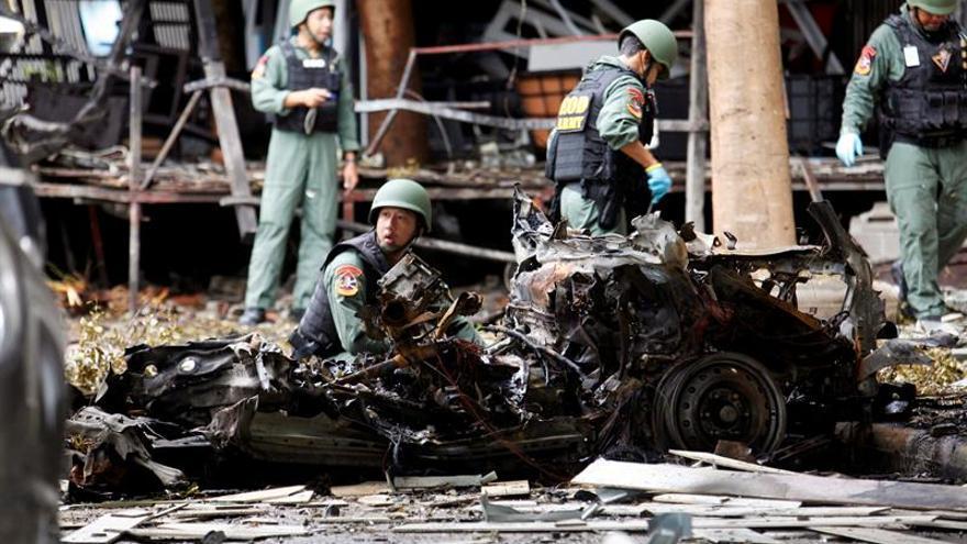 Dos muertos, incluida una menor, al estallar una bomba en el sur de Tailandia