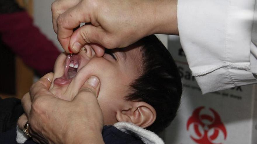 Sanidad asegura que el riesgo de transmisión de polio en España es muy bajo