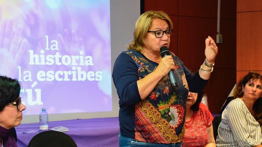 La número dos de Podemos al Congreso de los Diputados por la provincia de Las Palmas, Meri Pita.