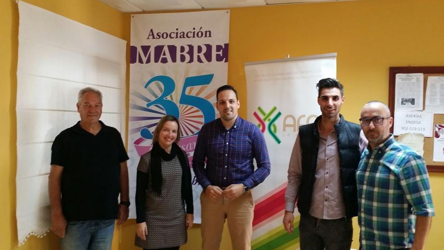 Jaime Medina (i), Cecilia González, Jonathan Felipe, Kevin Molina y Raúl Ramos.