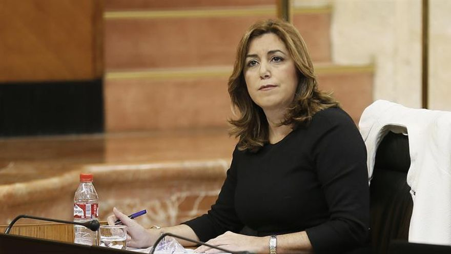 """Susana Díaz sostiene que """"habrá primarias y habrá competición"""" en el PSOE"""