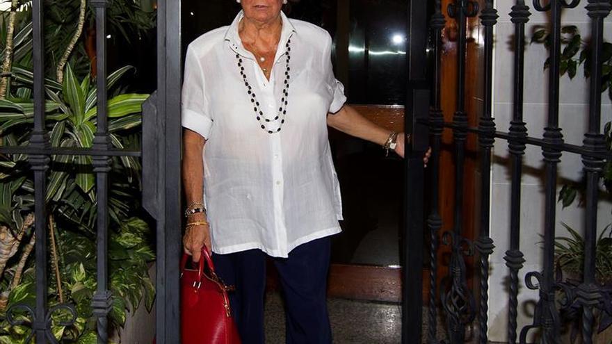 El papel que debe tener Rita Barberá divide al grupo Mixto del Senado