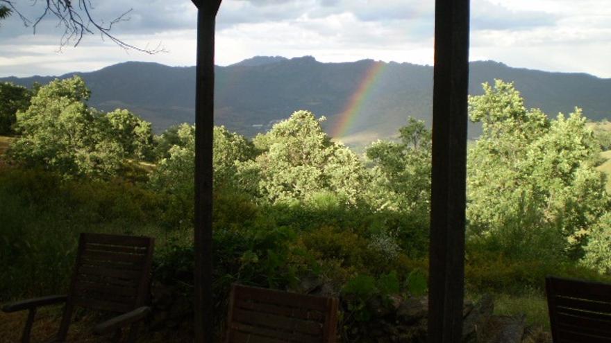 Paisaje desde el Rincón de los Cerezos / http://elrincondeloscerezos.blogspot.com.es