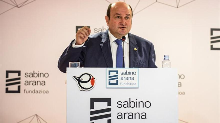Ortuzar: tras 50 años de ETA, Euskadi necesita sanarse para pensar en futuro