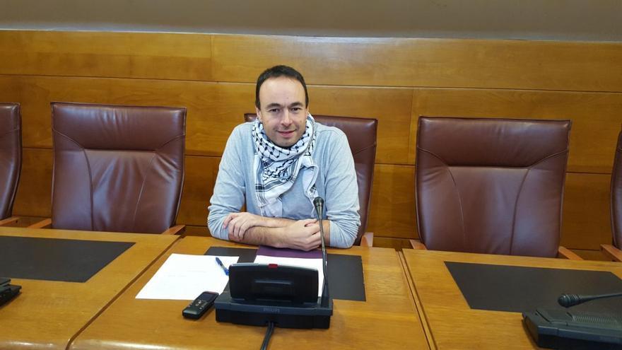 El diputado de Podemos Cantabria, José Ramón Blanco.