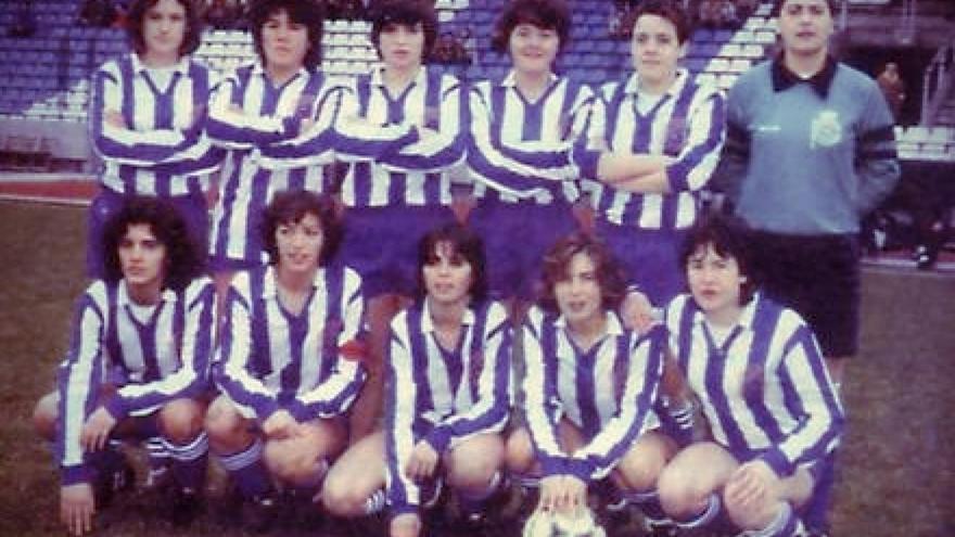 Formación del Karbo Deportivo en los años 80