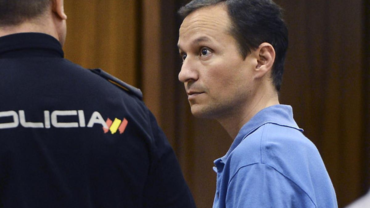 José Bretón, durante el juicio