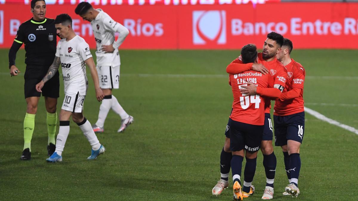Independiente fue superior a Patronato y se acomoda en el campeonato.