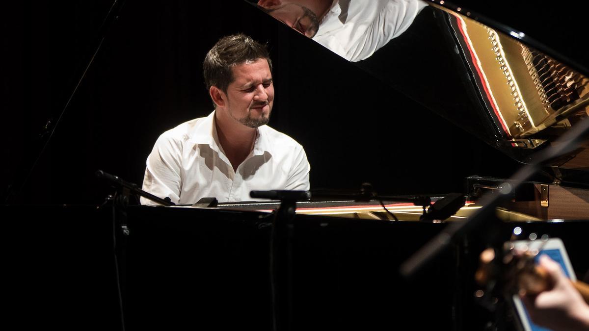El pianista Juan Antonio Sánchez.