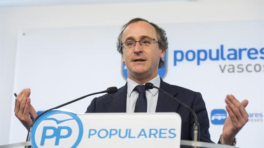 El PP ve difícil un acuerdo que evite el recurso a la Ley vasca de adicciones