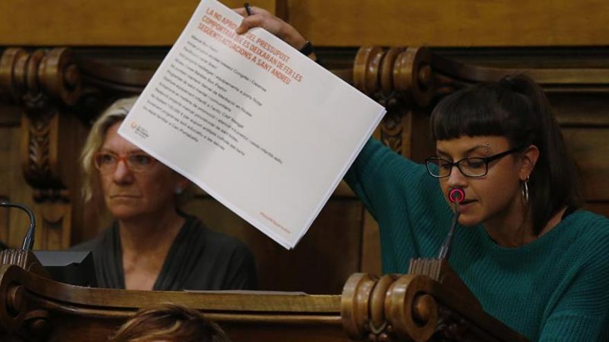 La concejal de la CUP se queja del trato en los juzgados durante la rueda de reconocimiento
