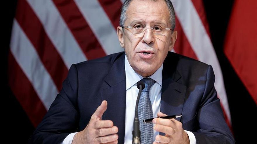 Lavrov se reúne mañana en Moscú con el enviado de la ONU para Siria