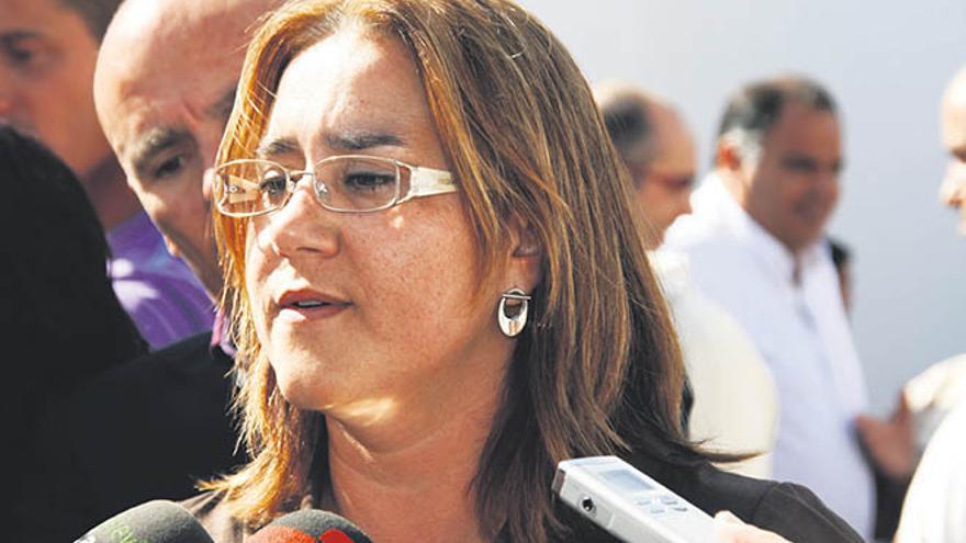 La alcaldesa de Yaiza tendrá que sentarse en el banquillo por el caso Stratvs. (Foto: De la Cruz/ Diario de Lanzarote).