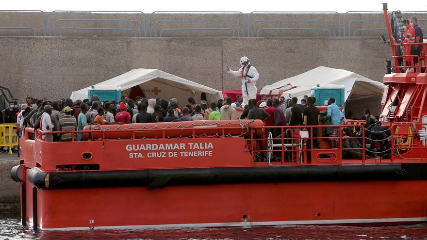 Rescatadas 138 personas cerca de Gran Canaria desde la tarde del jueves