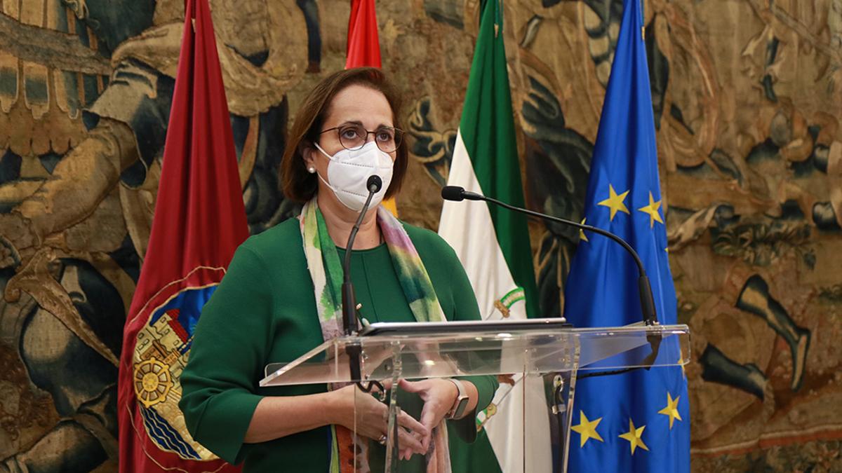 La presidenta del Imdeec, Blanca Torrent.