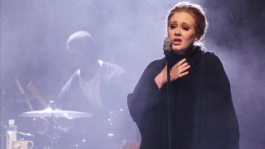 Adele actuará el 24 de mayo de 2016 en el Palau Sant Jordi de Barcelona