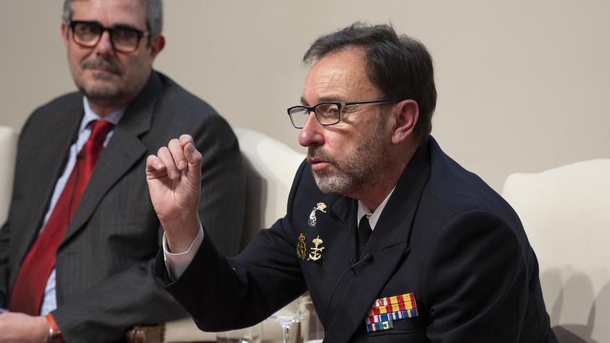 Enrique Cubeiro, jefe del Estado Mayor del Mando Conjunto de Ciberdefensa.