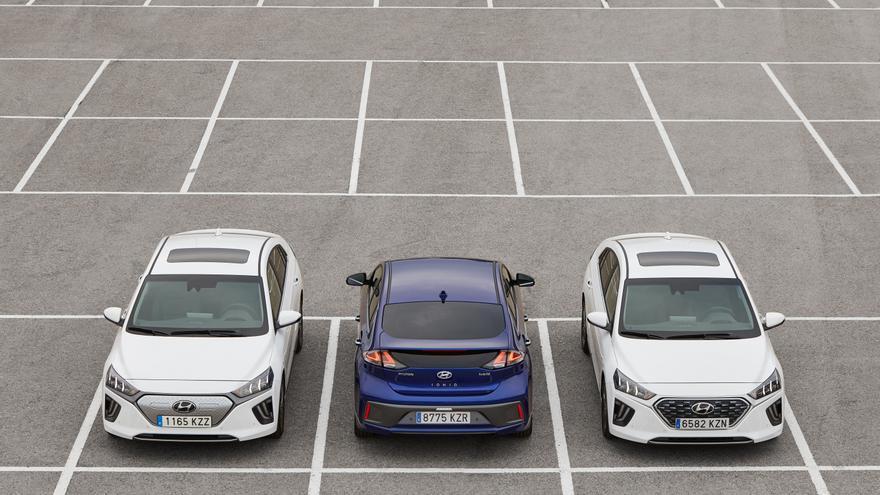 Nueva gama Hyundai Ioniq.