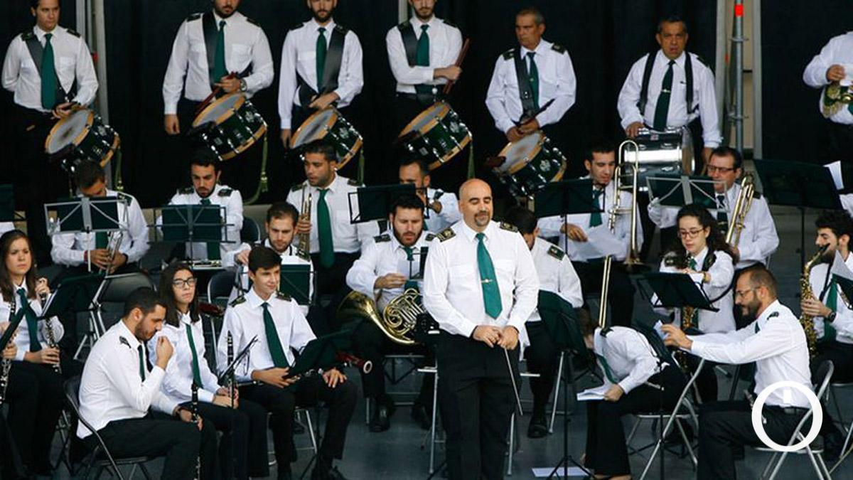Banda de Música María Santísima de la Esperanza, en un concierto.