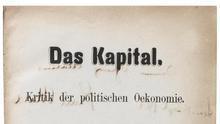 """A subasta una primera edición de """"El capital"""", de Marx"""