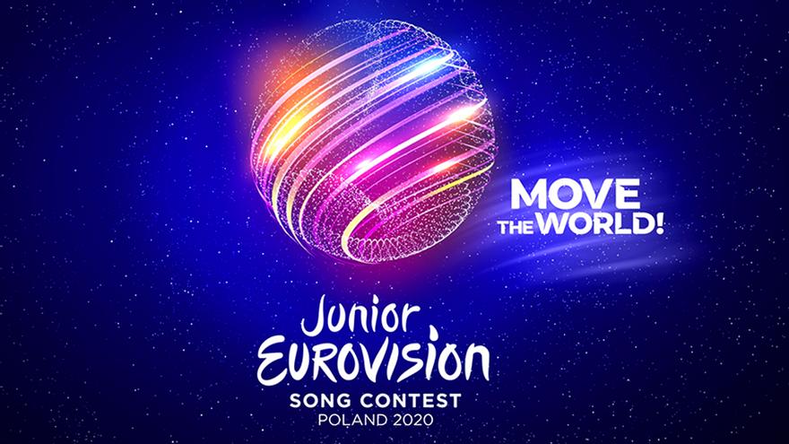 Logotipo oficial de 'Eurovisión Junior 2020'