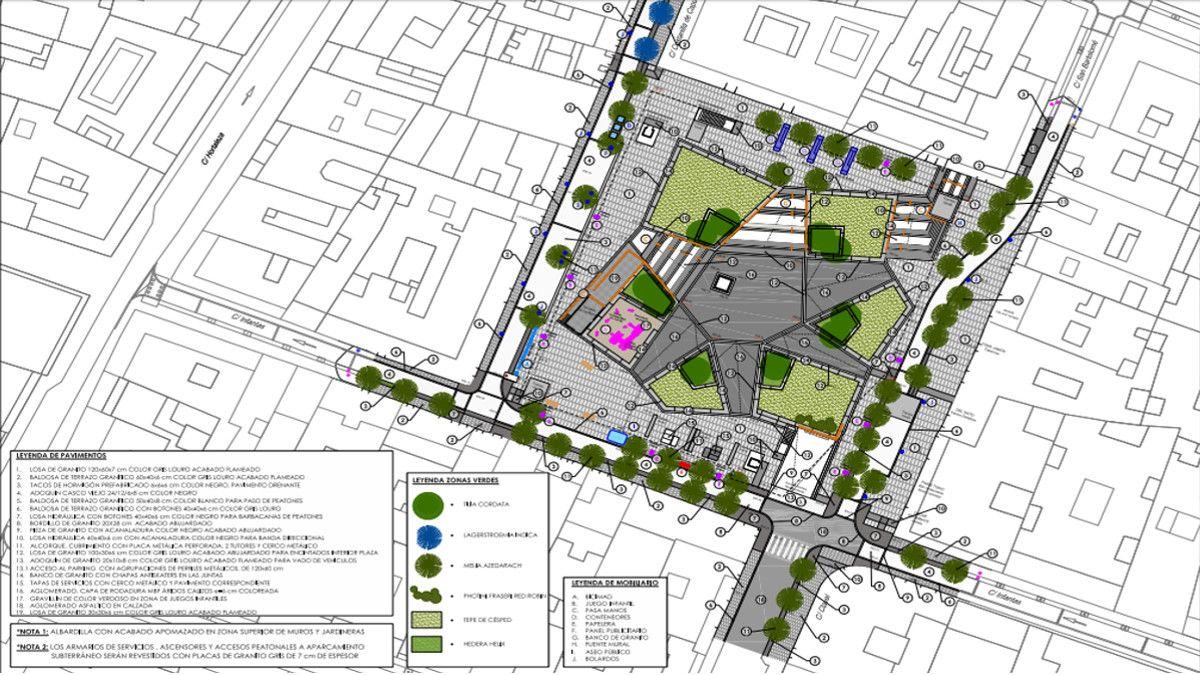 Nuevos árboles para la Plaza de Pedro Zerolo | AYUNTAMIENTO DE MADRID