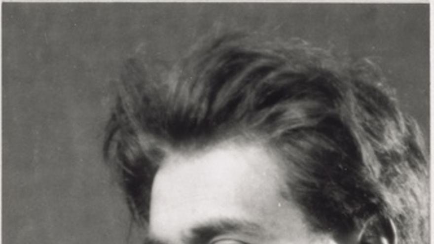 Fotografia de Artaud, hecha por Man Ray