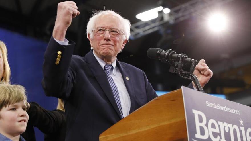 Sanders gana las primarias demócratas de Nuevo Hampshire, según proyecciones