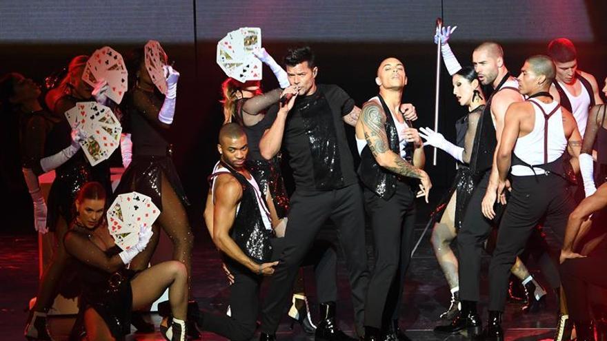 Ricky Martin estrena su espectáculo residente en Las Vegas