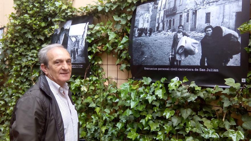 Fernando Hernández muestra una instantánea de la exposición
