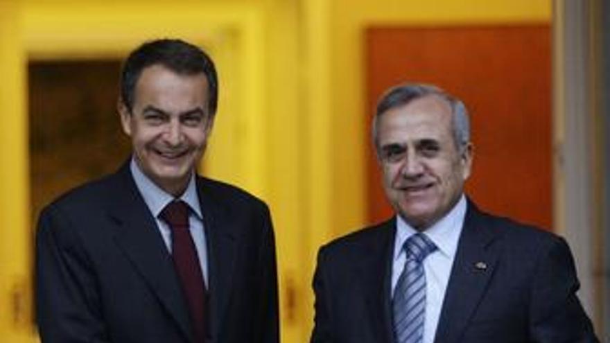 Zapatero y Suleiman