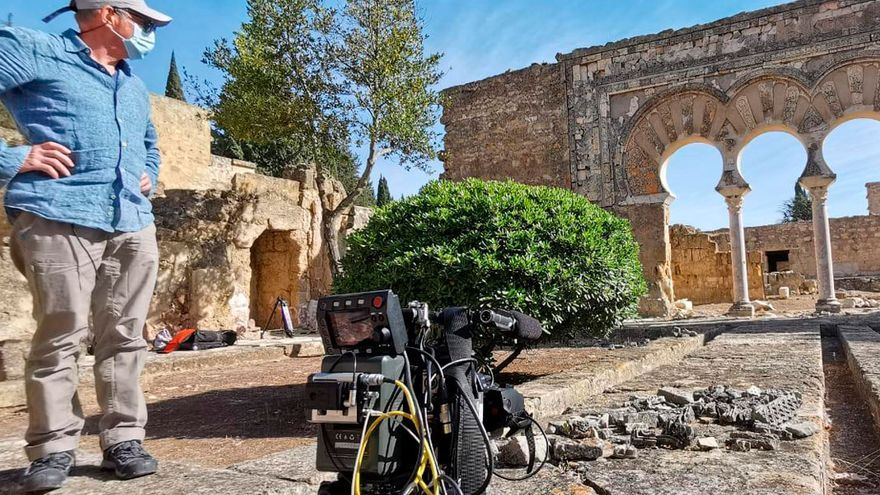 Rodaje en Medina Azahara.